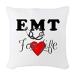 EMT For Life Woven Throw Pillow