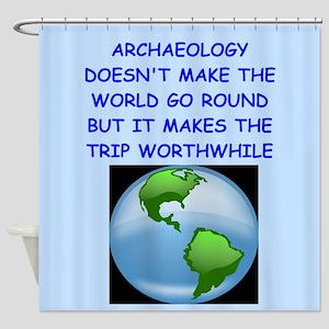 archaeology Shower Curtain