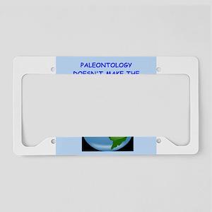 paleontology License Plate Holder