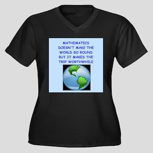 mathematics Plus Size T-Shirt