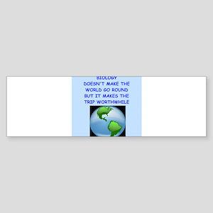 biology Bumper Sticker