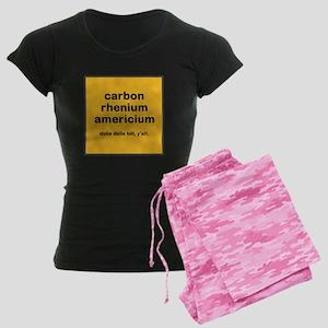 cream chem womens dark pajamas