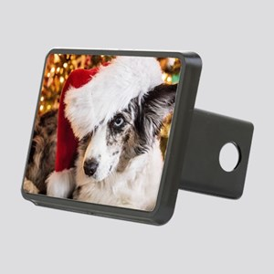Cardigan Corgi Christmas Rectangular Hitch Cover