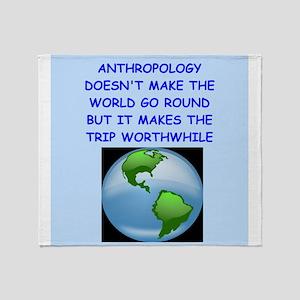 anthropology Throw Blanket