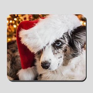 Cardigan Corgi Christmas Mousepad