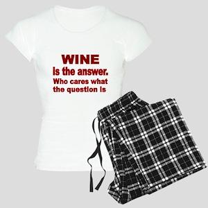 Wine is the Answer Pajamas