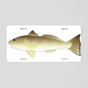 Southern Kingfish Aluminum License Plate