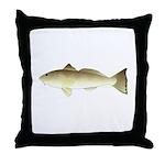 Southern Kingfish Throw Pillow