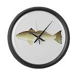 Southern Kingfish Large Wall Clock