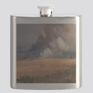 Fire in Yellowstone Flask
