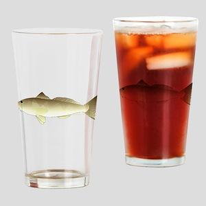 Southern Kingfish C Drinking Glass