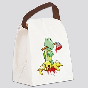 TORTOISE AND THE HARE Canvas Lunch Bag