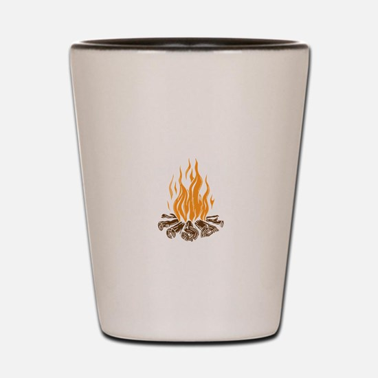 Bonfire Shot Glass