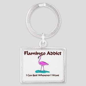 Flamingo49271 Landscape Keychain