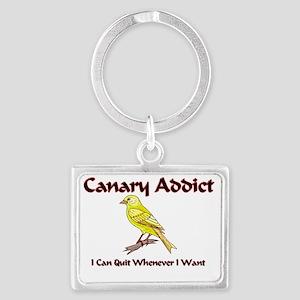 Canary123345 Landscape Keychain