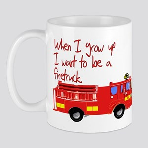 Firetruck Mug
