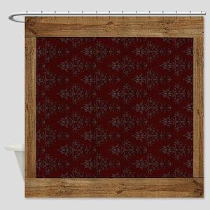 Western Pillow 10 Shower Curtain
