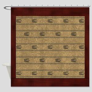 Western Pillow 9 Shower Curtain