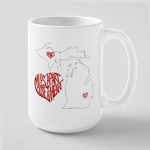 Michigan Hearts - Kelly JaMarco Mug