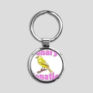 Canary112349 Round Keychain