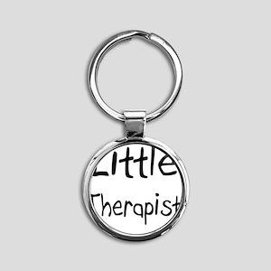 Therapist61 Round Keychain