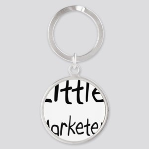 Marketer113 Round Keychain