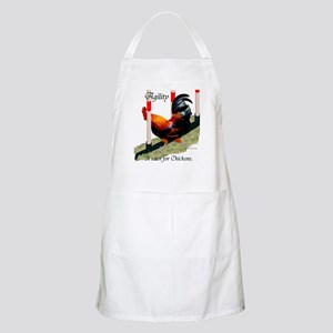 NOT for Chickens! BBQ Apron