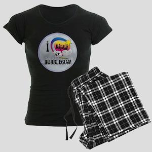 I Dream of Bubble Gum Women's Dark Pajamas