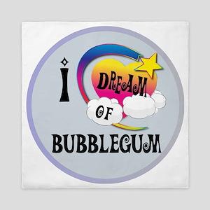 I Dream of Bubble Gum Queen Duvet