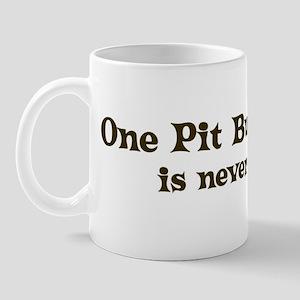 One Pit Bull Terrier Mug