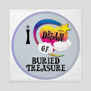 I Dream of Buried Treasure Queen Duvet