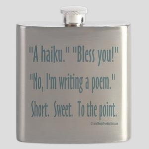 Sneeze: A Funny Haiku Flask