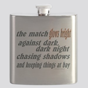 Verse: Match Glows Bright Flask