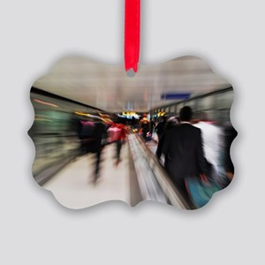 Passengers motion blur Picture Ornament