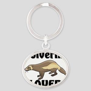 Wolverine1118 Oval Keychain
