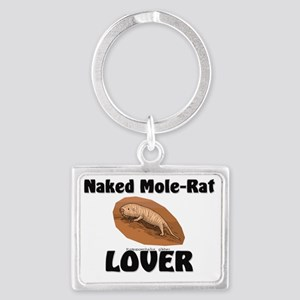 Naked-Mole-Rat68161 Landscape Keychain