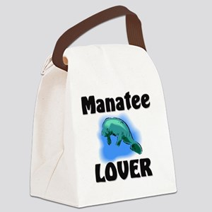Manatee53190 Canvas Lunch Bag