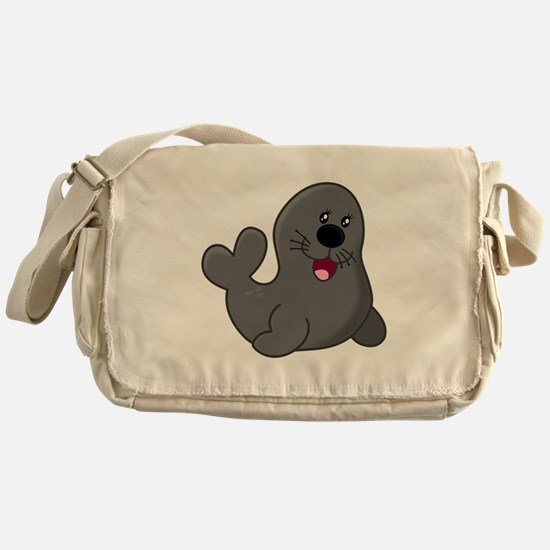 Baby Seal Messenger Bag
