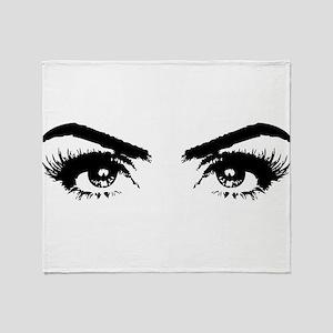 Eyes Throw Blanket