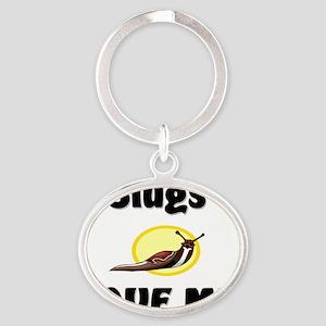 Slugs7266 Oval Keychain