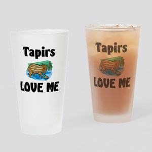 Tapirs11543 Drinking Glass
