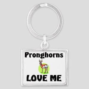 Pronghorns77117 Landscape Keychain