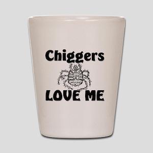 Chiggers32336 Shot Glass