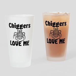 Chiggers32336 Drinking Glass