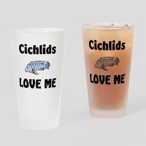 Cichlids56331 Drinking Glass