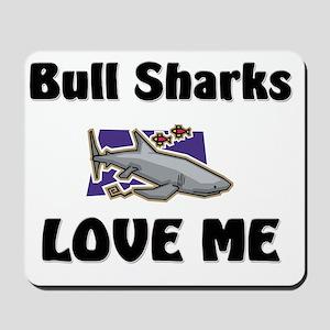 Bull-Sharks139359 Mousepad