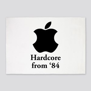 Hardcore from '84 5'x7'Area Rug
