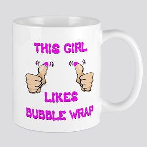 This Girl Likes Bubble Wrap Mug