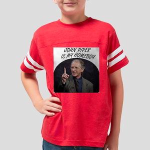 John Piper Is My Homeboy Youth Football Shirt