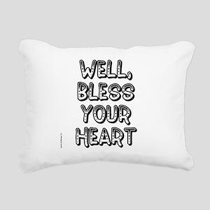 blessyourheart Rectangular Canvas Pillow